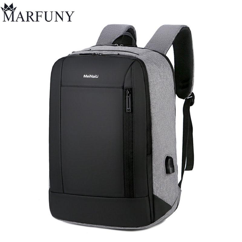 70bc96f6468 Multifunction USB Charging Men Fashion Male Anti Thief Travel Backpack  15-inch Laptop Backpacks For Teenager School Bags 2019 Backpacks Cheap  Backpacks ...