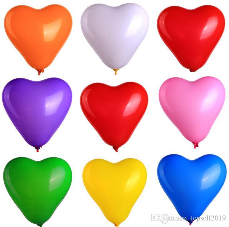 c4106586ea Compre Explosão Colorida 36 Polegadas Oversized Heart Love Balão Hélio  Inflável Big Latex Balões Para O Casamento Festa De Aniversário Decorações  SN1824 De ...