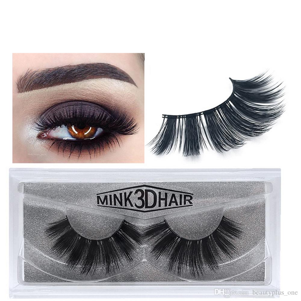 18a38159839 3D Mink Eyelashes False Eyelashes Messy Eye Lash Extension Sexy Eyelash  Full Strip Eye Lashes 17 Styles Eyelash Extensions Makeup From  Beautyplus_one, ...