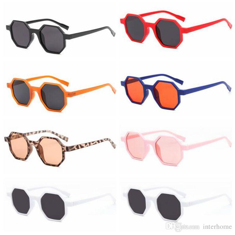 Sunglasses Designer Octagonal Sunglass Fashion Polygonal Eyeglass Beach UV 400 Sun Shade Vintage Street Eyewear Travel Hot Sunglasses B5848
