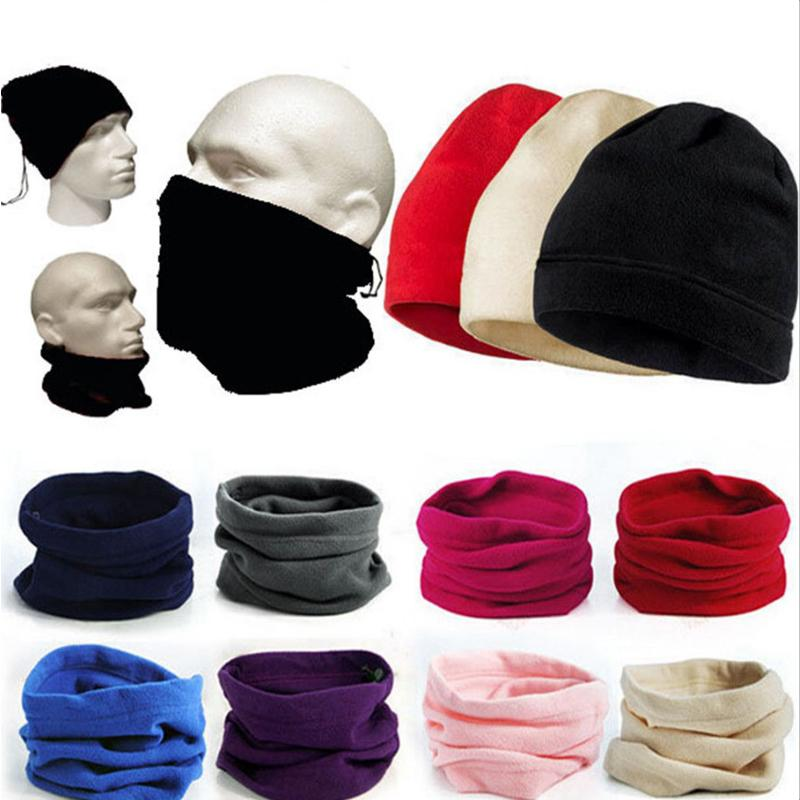 1fc6c340700e1 2019 Fleece Beanie Hat Women Men Thermal Snood Scarf Neck Warmer Ski  Balaclava Winter Unisex Hat Scarf Mask Three Purposes Fashion From  Cparrot love999