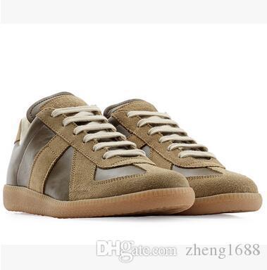 426c1c357 Marca MMM Sapatos Mulheres E Homens Sapatos Casuais Nova Costura De Couro  Dos Homens De Inicialização 36 46 Frete Grátis De Zheng1688, $78.17 |  Pt.Dhgate.