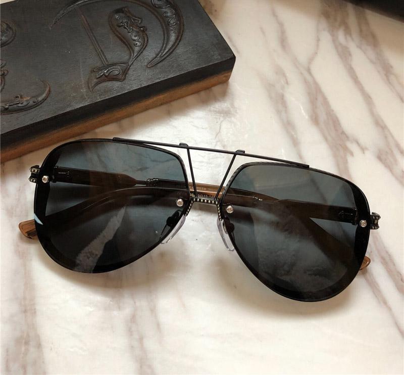 2249851e68 Fashion Brand Designer Sunglasses POSTYANK Pilot Frame Mosaic ...