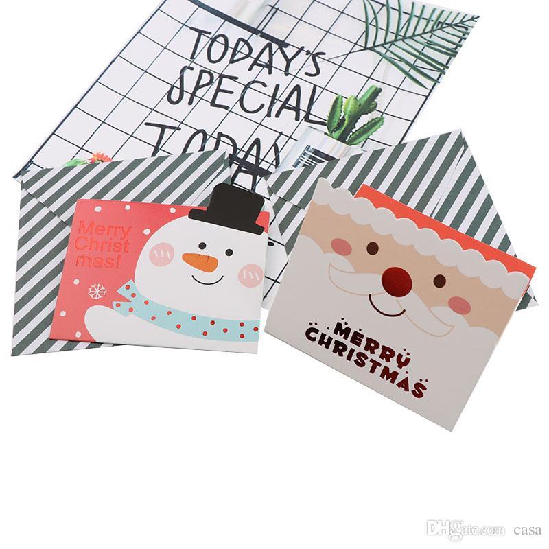 Biglietti Buon Natale Bambini.Acquista Buon Natale Babbo Natale Carta Auguri Cartoline Desideri