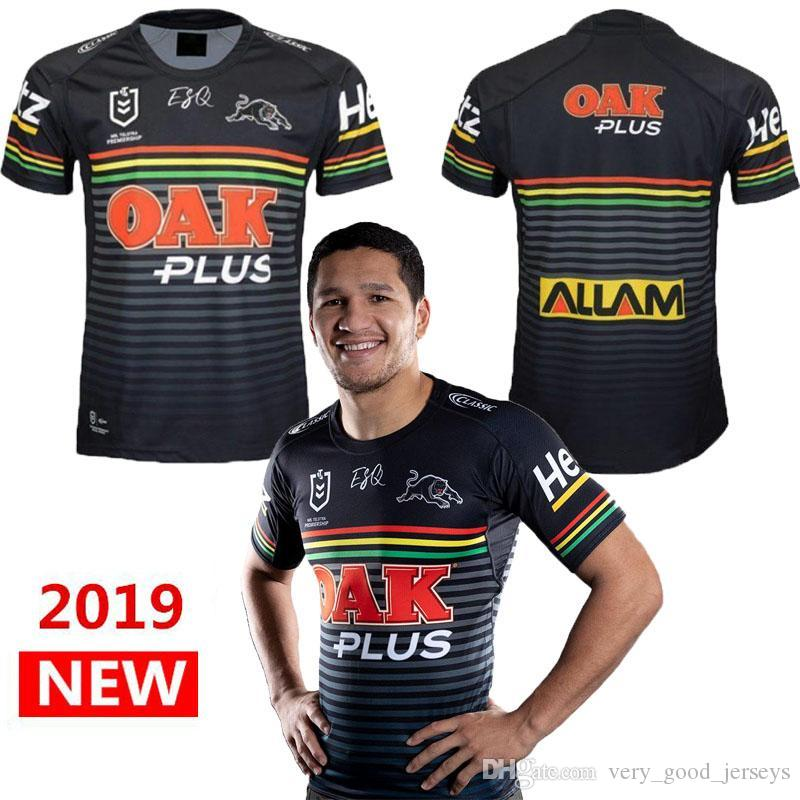 best service 1cbe6 a276d PENRITH PANTHERS 2019 HOME JERSEY 2019-2020 Australia Penrith Panthers  rugby NRL PENRITH PANTHERS 2019 HOME JERSEY size S - 3XL (Can print)