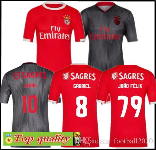 new concept fbe84 8933b Top quality 2019 2020 Benfica football jerseys home and away men s  sweatshirts 19 20 Sport Lisboa e Benfica Soccer Jerseys free shipping
