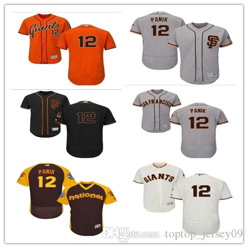 78966009 2018 Can San Francisco Giants #12 Joe Panik Jerseys Men#WOMEN#YOUTH ...