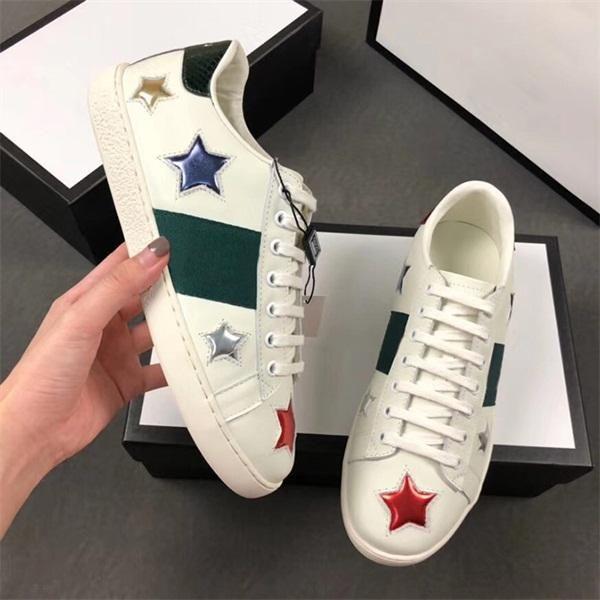 c94142f21 Compre Marca Popular Sapato Casual Homem Mulher Sneaker Branco Moda ...