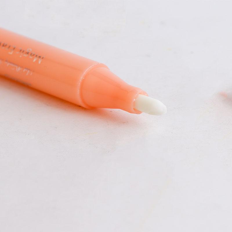 Semi-permanente Tätowierung Marker-Feder-Tätowierung Augenbrauen-Design-Remove-Haut-Markierungs-Feder Magic Eraser Remover-Bürsten-Tattoo Zubehör