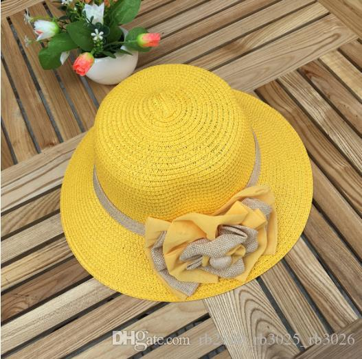 2019 new hot trend ladies summer straw hat beach sun protection sun hat Korean version of the folding holiday beach