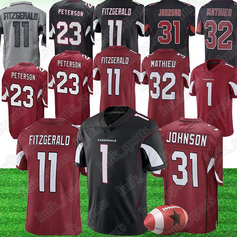 los angeles 689d2 9c5fe 1 Kyler Murray jersey Arizona 11 Larry Fitzgerald Cardinal jerseys 31 David  Johnson 13 Kurt Warner american football jerseys