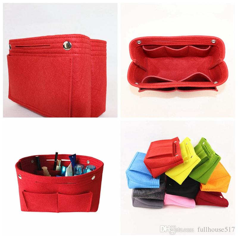 6b9005e1289f 2019 Felt Storage Bags Organizer Bag Insert Organizer Interior Pockets Tote  Felt Purse Bag Multiple Color Size From Fullhouse517, $6.74 | DHgate.Com