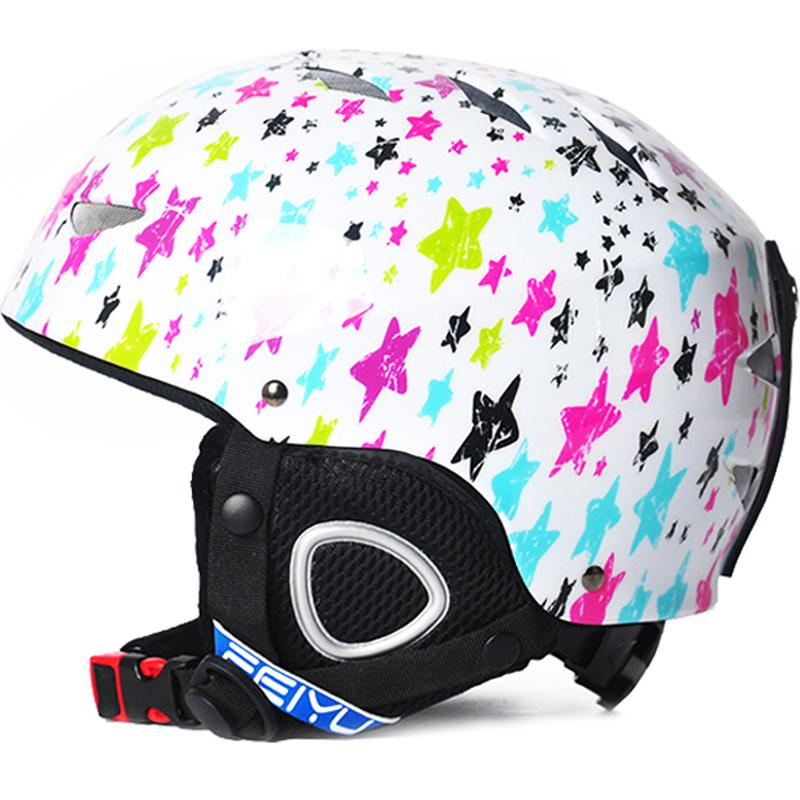 9af130105d2a 2019 3 10 Age Kids Ski Helmet Snowboard Helmet Winter Snow Windproof ...