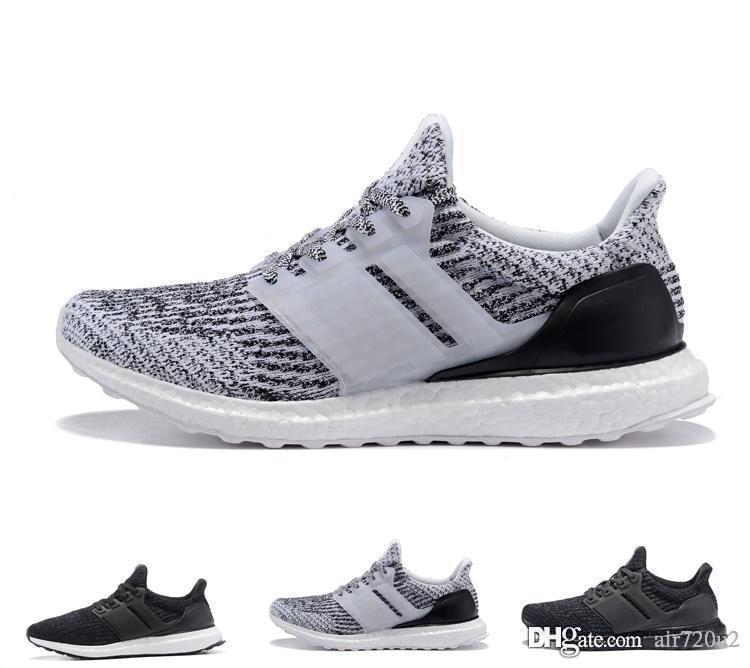 san francisco 988de 0d398 Adidas Ultra boost 3.0 2019 Boost 4.0 Triple Grey y White Primeknit Oreo  Blue Hombre Mujer Zapatos Incrementa la temperatura ultra alta