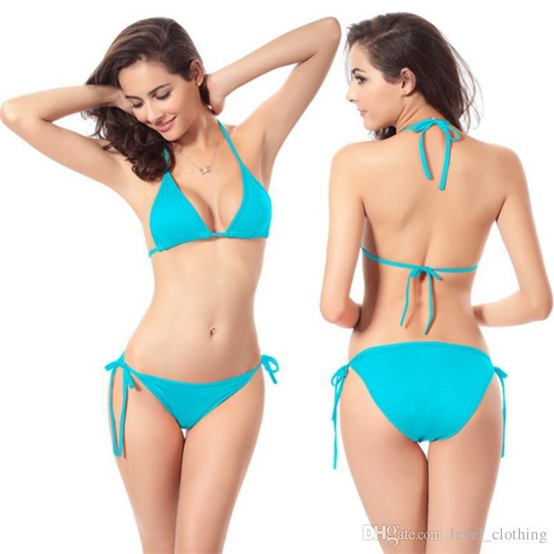 Colores Bikini Europeo 11 Gratis Multicolor Clásico Traje Baño 2pcs Envío Y Caliente Venta Americano Set De l1J3FKTc