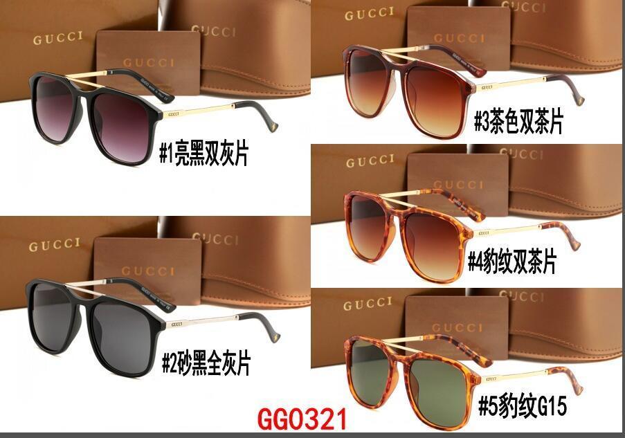 7930f7c078 Compre US0321 Gafas De Sol Clásicas Premium De Marca Para Hombre Gafas De  Sol Para Mujer Lentes De Vidrio De 55 Mm 65 Mm, Estuche Marrón A $6.6 Del  Lgflgf ...