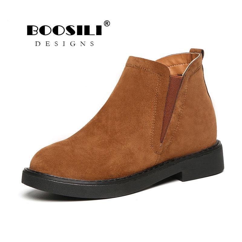 22b263a02 Compre 2019 Botas De Invierno Para Mujer Con Zapatos Damas De Nieve  Plataforma De Arranque Caliente Calzado Femenino A  30.89 Del Purpurpur