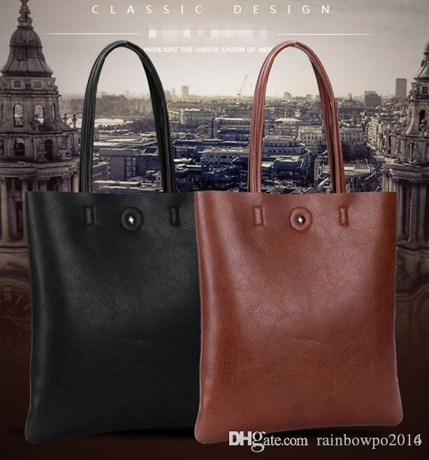 822c0026f70f Factory Outlet Brand Bag Leather Handbag Simple Korean New All Match Man  Bag Trend Of Korean Minimalist Leather Shoulder Bag Overnight Bags For Women  Mens ...