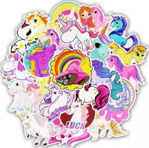 Unicorn Stickers Poster Wall Sticker for Rooms Home Laptop Skateboard Luggage Car Kids DIY Cartoon Sticker 30PCS/Set Wall Decor GGA1624