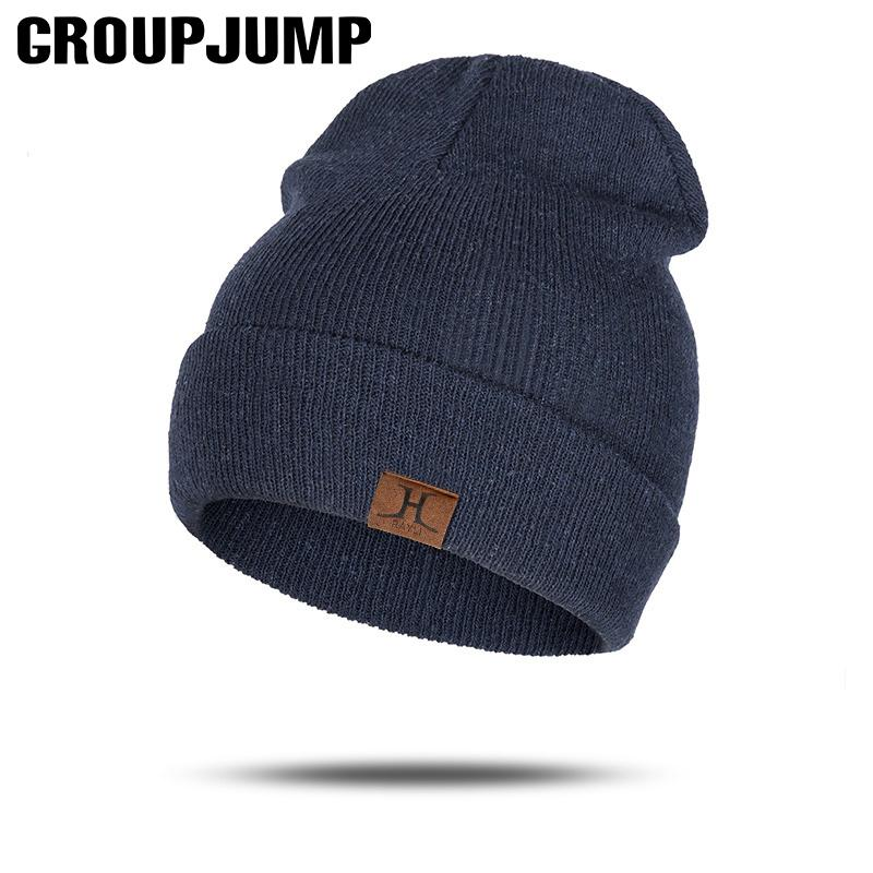 2019 Fashion Skullies Beanies Unisex Slouchy Knitting Beanie Hip Hop Cap  Warm Winter Hat For Men Women Ladies Slouch Hats From Orangeguo 3a583e1eed1