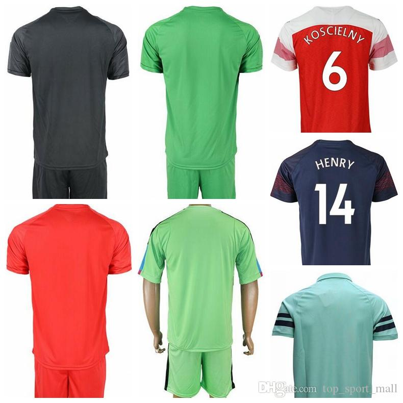 db1357adf3f 2019 FC Soccer Goalkeeper 1 Petr Cech Jersey 2018 2019 Men 19 Bernd Leno Football  Shirt Kit Uniform Custom Name Number From Top sport mall