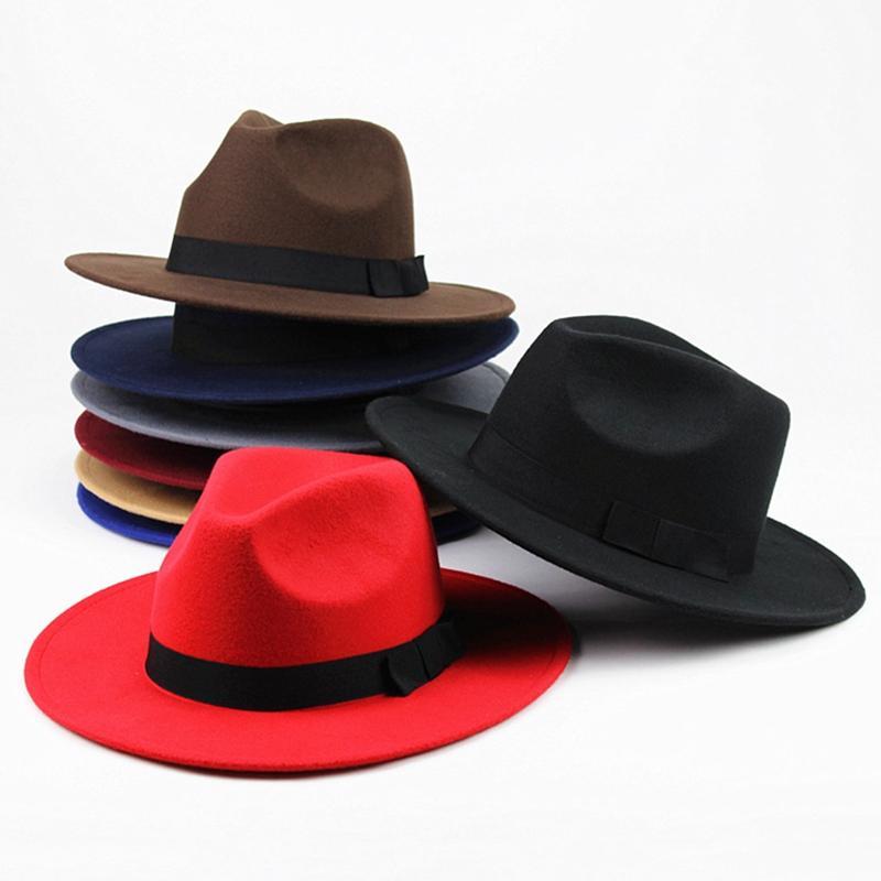 Fashion Vintage Men Women Unisex Classic Blower Jazz Hat Black ... 69e02cf80daf