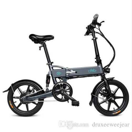Folding Electric Bike Three Riding Modes ebike 250W Motor 25km/h 25-40KM Range e bike 16 inch tire electric bicycle