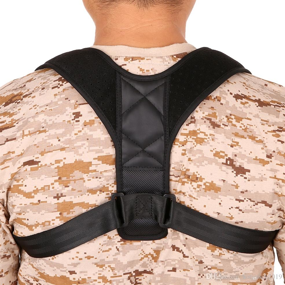 7f23f1027 2019 Adjustable Posture Corrector Back Figure 8 Clavicle Strap Wrap Corset  Belt Straightener Brace Upper Back Shoulder Correctors  72500 From  Hotjersey2019