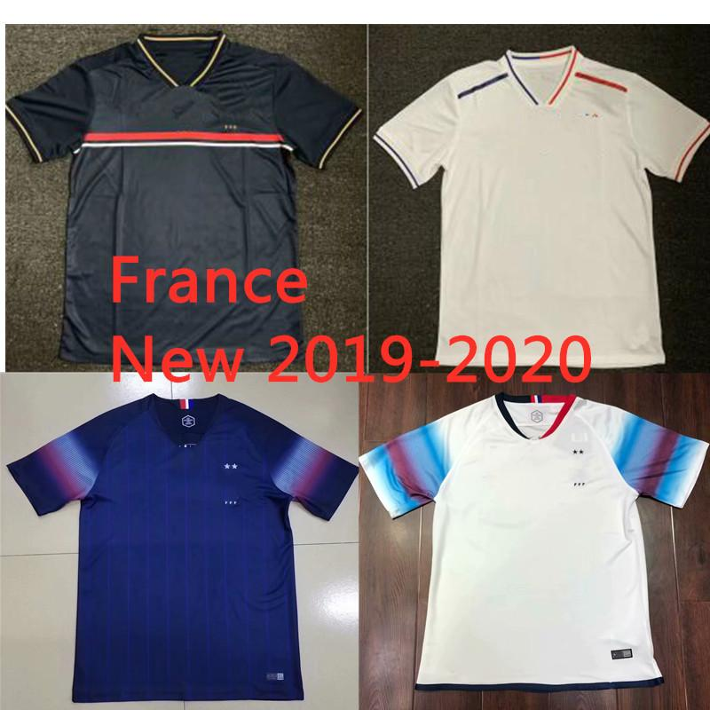 2019 top quality new france 2019 2020 two stars soccer jerseys champion patch maillot de foot 19