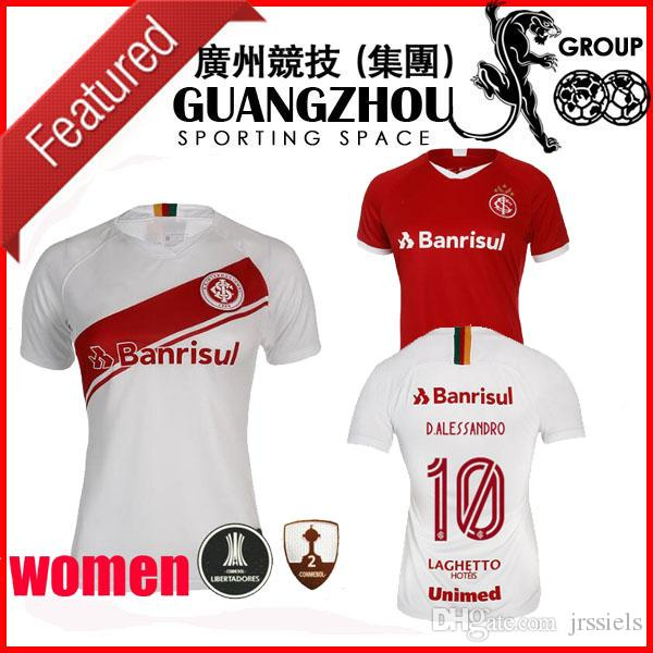 brand new 96cf5 b311e 2019 SPORT CLUB Frauen Fußball-Trikots Heimtrikot D ALESSANDRO 10 N.LOPEZ 7  POTTKER 99 ROSSI 22 19 20 Trikot-Trikots