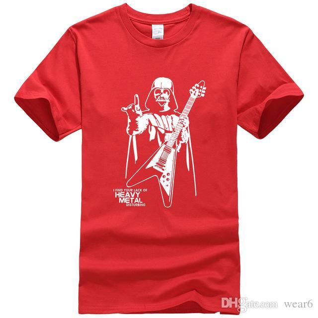 7d9e60c7 2019 Womens Luxury Designer T Shirts Men Darth Vader Heavy Metal ...