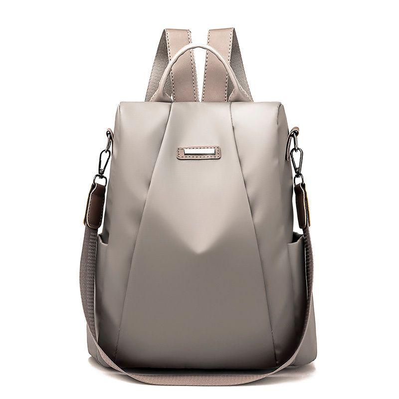 491dd10fb7a9 2019 FashionFashion Women Waterproof Nylon Backpack Famous Designers High  Quality Shoulder Bag Leisure Traveling Backpacks For Teenage Girls Mochilas  ...