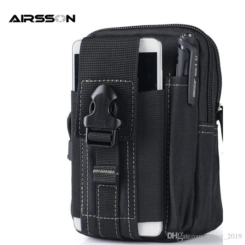 Outdoor Hunting Sports Bags Tactical Molle Pouch Edc Utility Sports Waist Cell Phone Holster Holder Storage Bags 2019 Wide Selection; Security & Protection