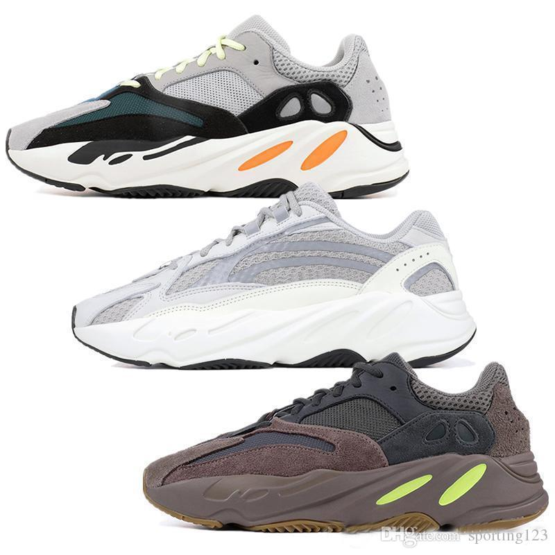 8401f9ae1e815 2019 700 Wave Runner Mauve Inertia Running Shoes Kanye West Designer Shoes  Men Women 700 Geode Static Sports Seankers Size 36 48 From Sporting123