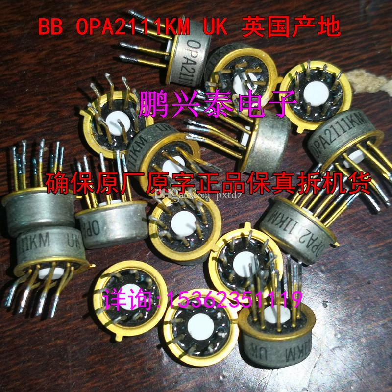 OPA2111KM   OPA2111AM   OPA2111BM , Dual OP-AMP Audio Integrated circuits  ICs, OPA2111   8 pins Straight pin metal round package chips, Used