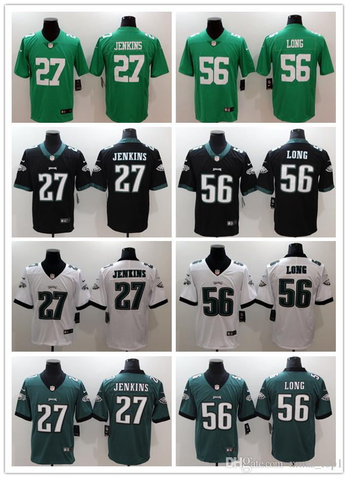 d08dbc8cb 2018 2019 Mens 27 Malcolm Jenkins Philadelphia Eagles Football Jersey  Stitched Embroidery 56 Chris Long Color Rush Football Stitching Jersey From  For xmas