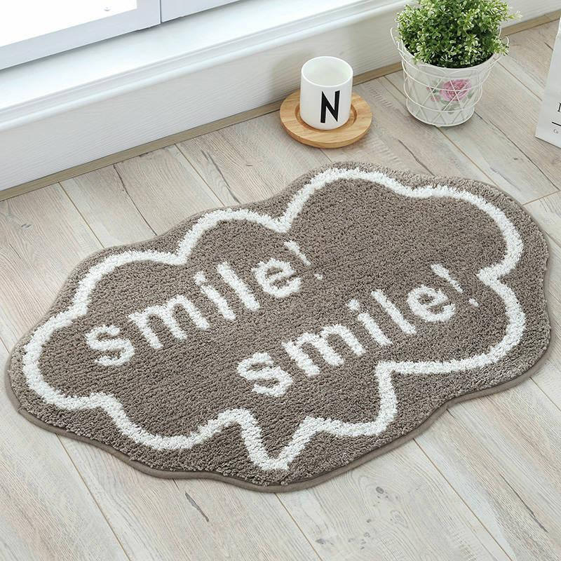 2019 Lovely Cloud Bath Mats Non Slip Mat For Living Room Bedroom Bathroom Toilet, Floor Mat Area Rug Super Soft Bathroom Rug From Cindy668, $12.95 | DHgate.
