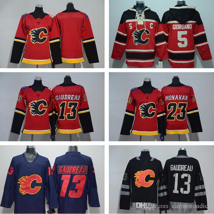 45c831a29 Calgary Flames Jerseys CCM Old Time Ice Hockey 14 Theoren Fleury 25 ...