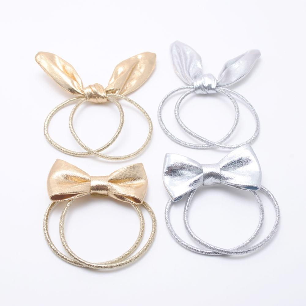Women Hair Tie Rabbit Ear Elastic Hair Bands Girls Ponytail Holder Kids  Bows Accessories Birthday Gift Party Headwear Hair Jewels Jeweled Hair Pins  From ... 4d764dd756ba