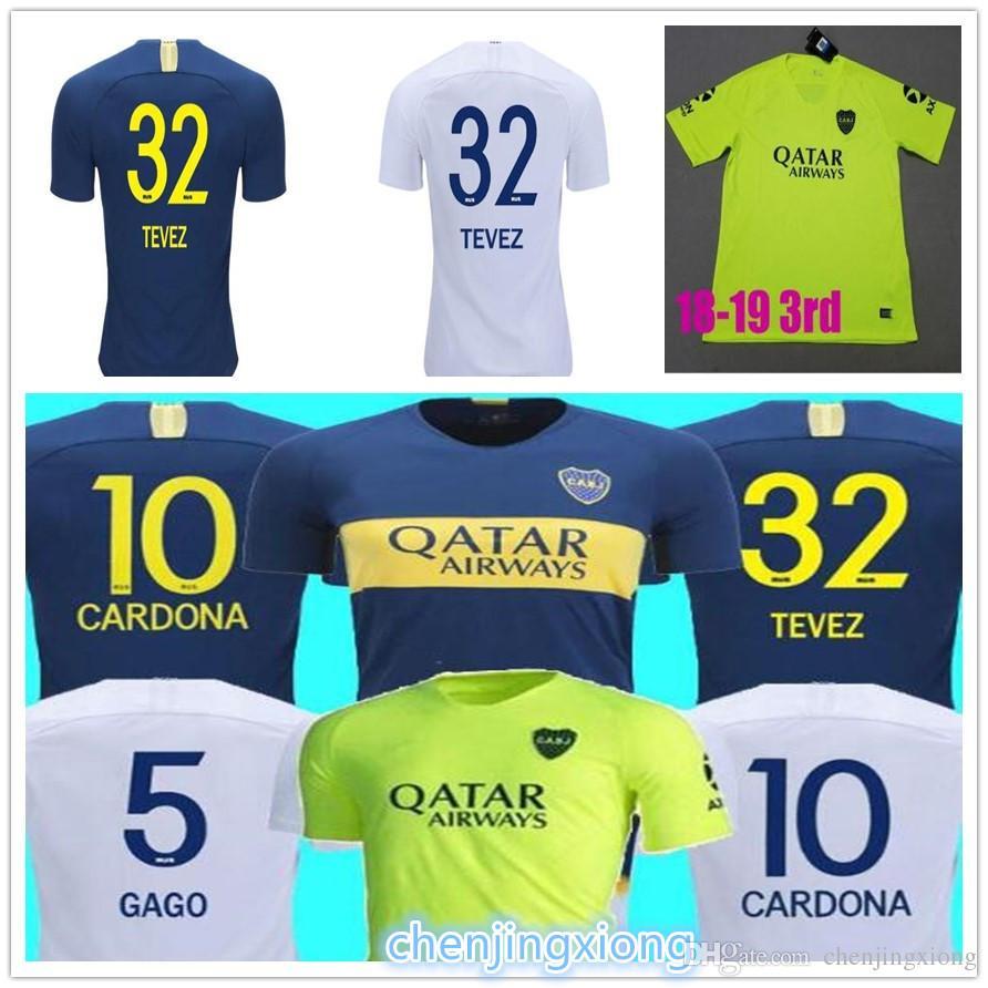 Thailand 2018 2019 Boca Juniors Soccer Jerseys 18 19 GAGO TEVEZ ... 1a606098b