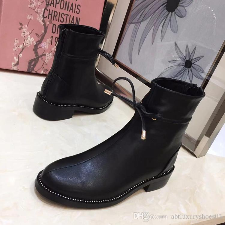 9e7c9178a78 Women Boots Casual Bottes Femmes Chaussures Femme Hiver Women Ankle Boots  France Fashion Dl0R Brand Genuine Leather Fabric With Dl0R Logo Black Knee  High ...