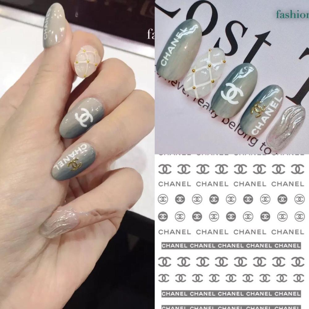 Nail sticker coke sports mark camellia logo nail sticker nail art beauty online with 13 1 piece on zhongfubeautys store dhgate com