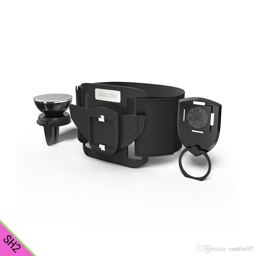 JAKCOM SH2 Smart Holder Set Hot Sale in Other Electronics as quran read pen  car phone stander ring
