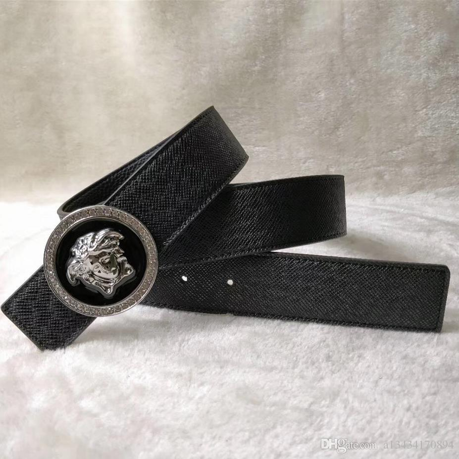 Business casual fashion belt for men, high quality coffee, black belt, gold and silver buckle free shipping