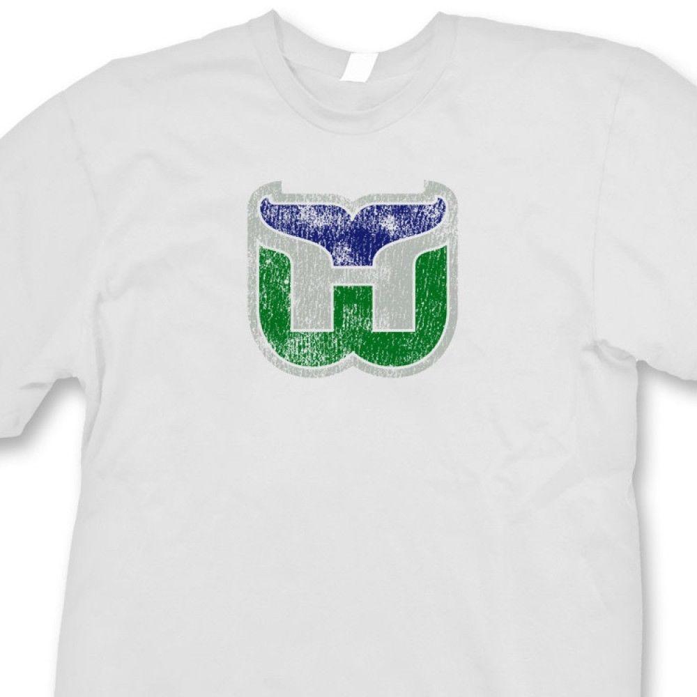 HARTFORD WHALERS NHL Jersey T Shirt Retro Hockey Tee Shirt Funny Unisex Tee  Online Tshirt Shopping Artistic T Shirts From Tshirt press c8dc91666