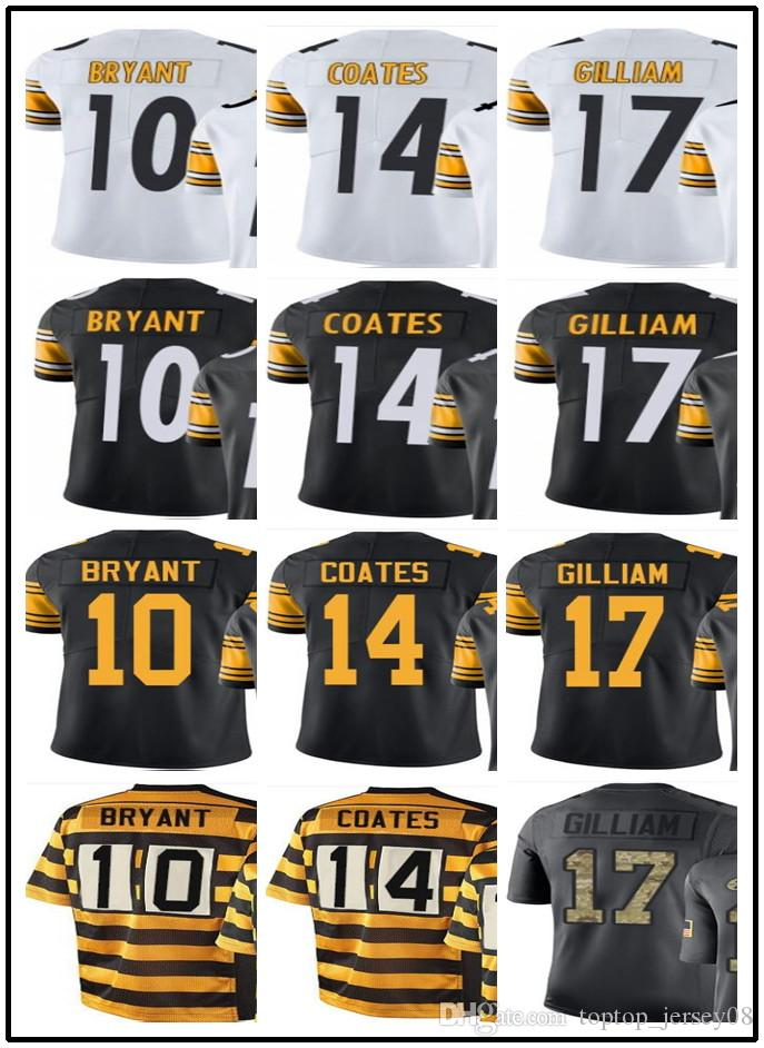 Customized Pittsburgh Sport Rugby Clothing Steelers Men WOMEN 10 Martavis  Bryant 14 Sammie Coates 17 Joe Gilliam Rush Football Jersey Online with ... ecd914211
