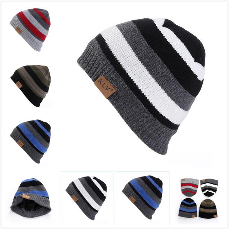 2019 Men Women Winter Wool Knit Cap Bucket Hat Baggy Warm Crochet Ski  Beanie Hatsune Miku Skull Slouchy Caps Hat From Qingfengxu c8af29827f8