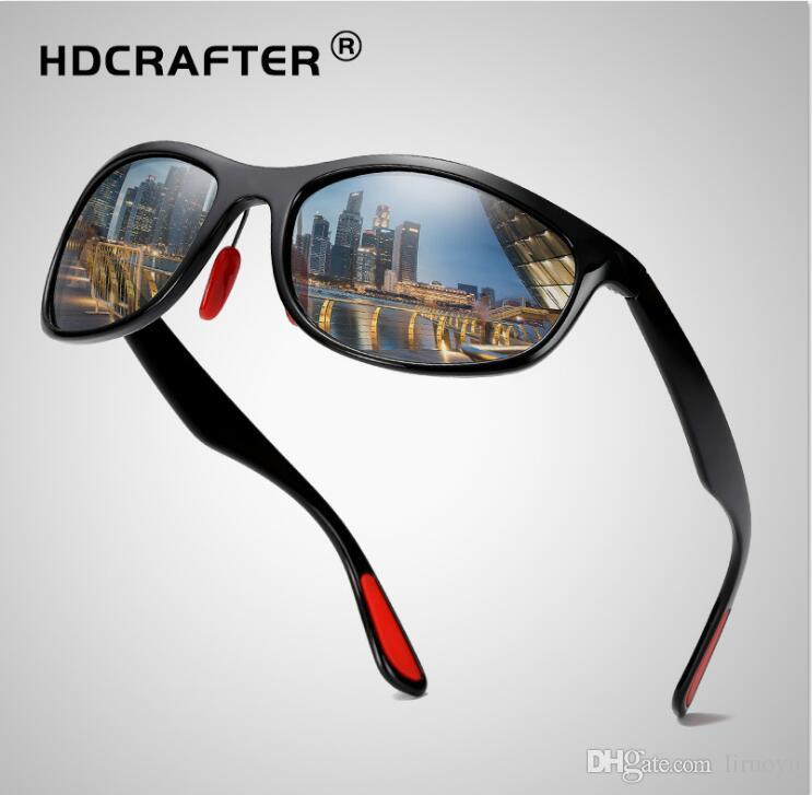 0baa4fed90 HDCRAFTER Latest Design Polarized Sport Sunglasses TR90 Anti-Glare ...