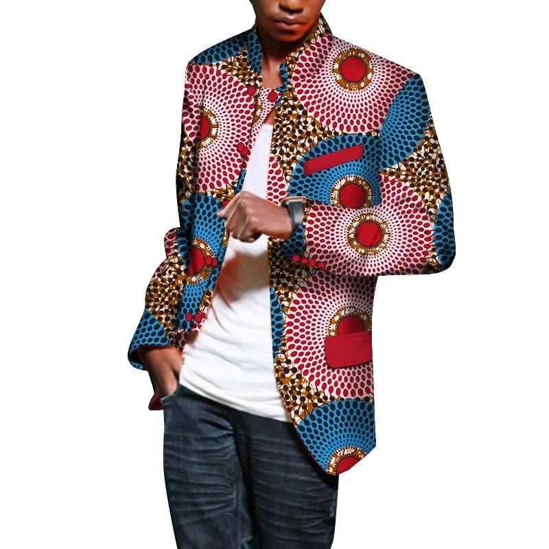 completo uomo tipo giacca africano