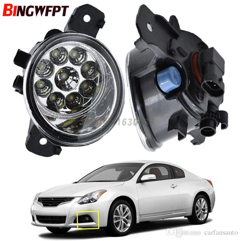 Car Styling Front LED Fog Lamps Fog Lights 26150-89905 1 SET (Left + right) For Nissan Sentra 2004-2012 Altima 2010-2014 Maxima Rogue